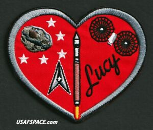 Authentic LUCY - 5SLS USSF ATLAS V Launch - CCSFS - NASA  SATELLITE SPACE PATCH