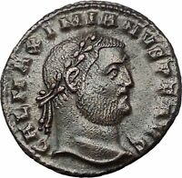 GALERIUS 308AD Large Ancient Roman Coin GENIUS Cult Wealth PROTECTION i54430