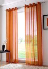 Rideaux et cantonnières oranges prêt à l'emploi pour la chambre d'enfant