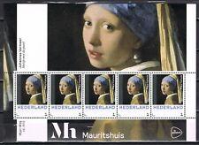 3012 vel/blok Heropening Mauritshuis - Vermeer - Meisje met de parel - Paintings
