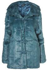 Topshop Duffle Faux Fur Coats & Jackets for Women