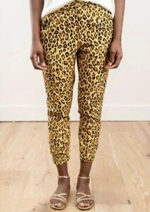 R13 Leopard Harem Jogger Pants XS