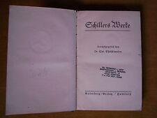 """""""Schillers Werke – Wallenstein (Ein dramatisches Gedicht - 1799)"""" von Schiller"""