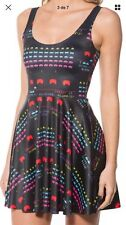 Black Milk Clothing EXTRA Large .Space Invaders Scoop Skater Dress Size X Large