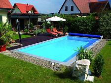 Pool SET Styroporbecken Schwimmbecken Rechteckig 7m x 3,5m x 1,5m