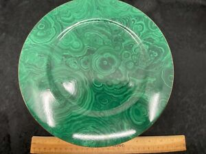 Neiman Marcus Malachite Print Plate- Dinner Plate- 12 Inch- Vintage Estate Find