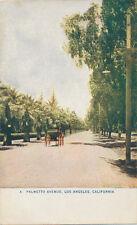 C5215    1910   POSTCARD LOS ANGELES CA PALMETTO AVENUE