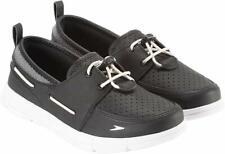 Speedo Women's Port Black Lightweight Breathable Water Boat Shoes Size 7