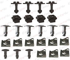 26 SATZ Halteklammer Motorschutz Unterschutz Schraube Clip Audi A4 A6 VW Passat