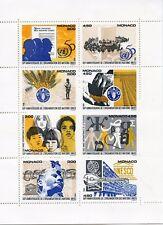 STAMP / TIMBRE DE MONACO BLOC N° 67 ** ORGANISTION DES NATIONS UNIS