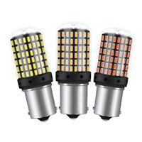 2x 1156 BA15S 7440 T20 144SMD LED Auto Blinker Rücklicht Glühlampe Birne 12-36V