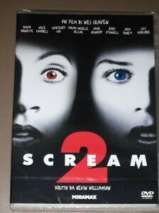 SCREAM 2  (Wes Craven)   Dvd Nuovo MIRAMAX