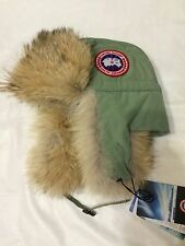 Canada Goose Aviator Hat Men's Style # 5187M Arctic Tund S/M MSRP $225 NWT
