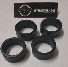 "[SR] Kawasaki Brute Force 300 /650 /750 ATV Complete 2.5"" Lift Spacer Kit BLACK"