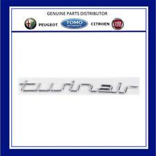 Fiat 500 & PUNTO EVO TwinAir Chrome Effect Badge 735551107