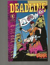 Deadline USA #1 Tank Girl 1st Gwar in Comics Hewlett Martin 1991 Low Print Run