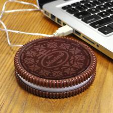 Portable Cookie USB Electronic Cup Warmer Milk Coffee Tea Mugs Heating Warm Pad