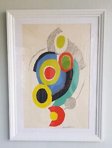 Sonia Delaunay-Pochoir-Signed-1973-Arthur Rimbaud: Les Illuminations