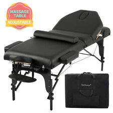 """New Professional 4"""" Pad Portable Portable Massage Table w/ 77"""" Long Bedframe 400"""
