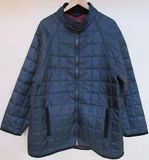 "Barbour ""Allendale"" Deep Navy Blue Quilted Jacket Sz XL D850"