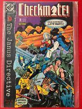 DC comics: CHECKMATE! Part 9 of 11 The Janus Directive - No. 18 JUN 89
