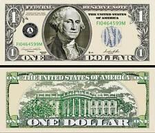 "George Washington - Billete"" 1 Dólar US - Colección Million Monedas President"