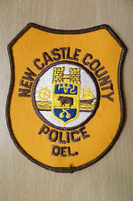 Patches: NEW CASTLE COUNTY POLICE DEPARTMENT PATCH (New, 5x4 inch)