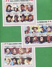 Stars of County & Western Music - 75c Stamp Sheets Antigua & Barbuda E19