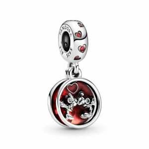 Authentic Pandora Disney Mickey & Minnie Mouse Love n Kisses S925 Charm 799298C0