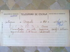 A3--LOTE  TELEGRAMAS  BURGUETE CASTELLON,PINATAR 36