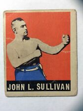 1948 Leaf Boxing CARD #101 JOHN L. SULLIVAN
