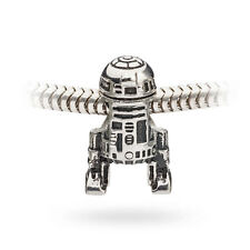 Star Wars R2-D2 Dangle Charm Bead -  PANDORA Chamilia Empire New Hope Jedi Force