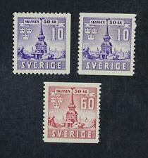 CKStamps: Sweden Stamps Collection Scott#319-321 Mint NH OG