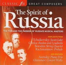SPIRIT OF RUSSIA - CLASSIC FM CD: RIMSKY-KORSAKOV MUSSORGSKY GLINKA BORODIN ETC