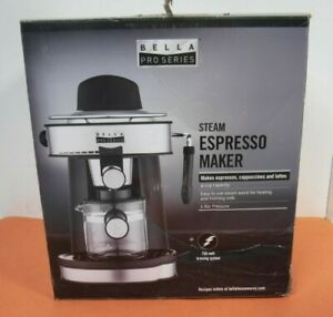 Brim - Bella - Espresso Machine - Stainless Steel Free Shipping