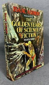 Isaac Asimov Golden Years Science Fiction HCDJ 4th Series 26 Stories SciFi Book
