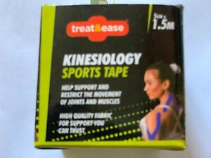 2 x  Kinesiology Muscle/Joints Support Aid Sports Tape Blue  5cm X 1.5m