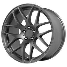 "4-NEW 18"" Inch Verde V44 Empire 18X8.5 5x120 +30mm Graphite Wheels Rims"