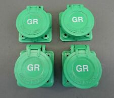 *Lot of 4* Indu-Electric GR Green Covers - NEW Surplus!