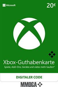 Microsoft Xbox LIVE 20 Euro € EUR Guthaben Card - MS Xbox 360 & One - [DE/EU]