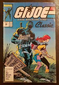 G.I. JOE #63 (1987) Marvel SO MUCH FUN! INC. Variant classic RARE Snake Eyes