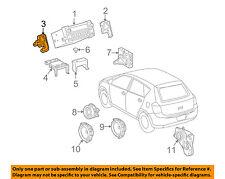 Pontiac GM OEM 09-10 Vibe Stereo Audio Radio CD/DVD-Mount Bracket Left 19184451