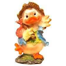 Large Garden Fairy Statue Outdoor Yard Decorations Sculpture Bird Duck Easter