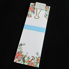 Vintage Mahjong Birds in the Flowers, 25 Note Sheets, Gifts, Mah Jongg