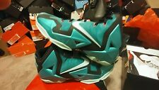 Ds Nike Air LEBRON XI South Beach xii xiii Size 13 Banned i ovo xii shattered db