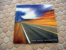 ACURA OFFICIAL NSX RL TL TSX MDX RSX FULL PRESS KIT CD BROCHURE 2004 USA EDITION