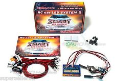 GT POWER 12 LED TX Controlled Smart Light System V2 for 1/10 1/8 RC Car Truck
