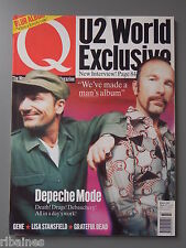 Q Music Magazine March 1997, New Romantics/U2/Grateful Dead/Gene/Lisa Stansfield