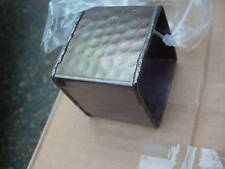 12  Metal  Square  Napkin  Rings  Bronzed Antique Look  NEW