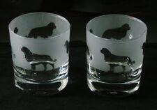 More details for bernese mountain dog gift whisky glasses